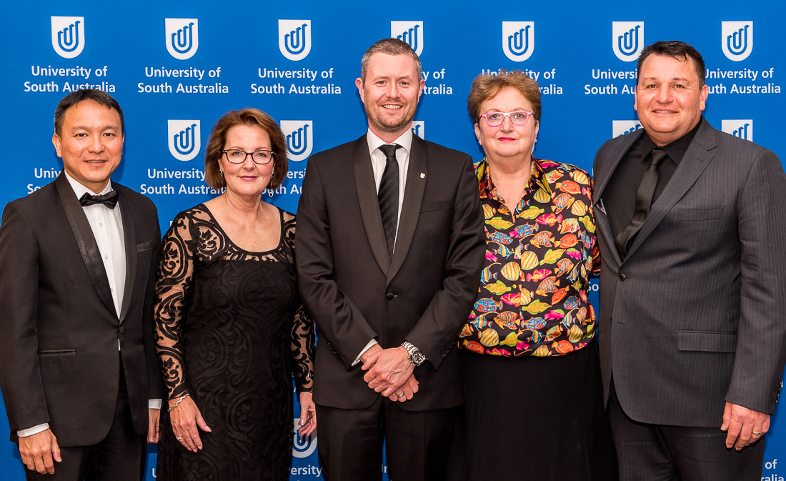 2018 Recipients of the Alumni Award. Image: University of South Australia, photo Aise Dillon