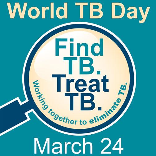 World TB Day logo courtesy CDC web resources