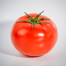 Picture of a tomato.