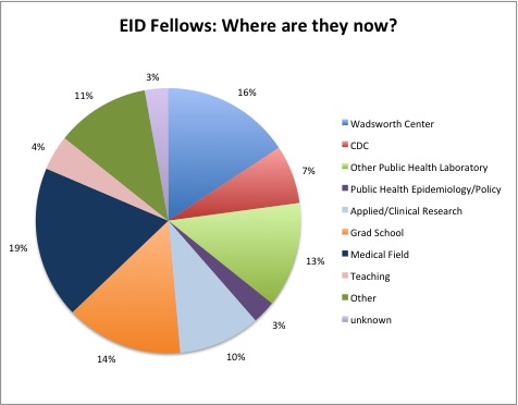 Where are former WC EID Fellows now?