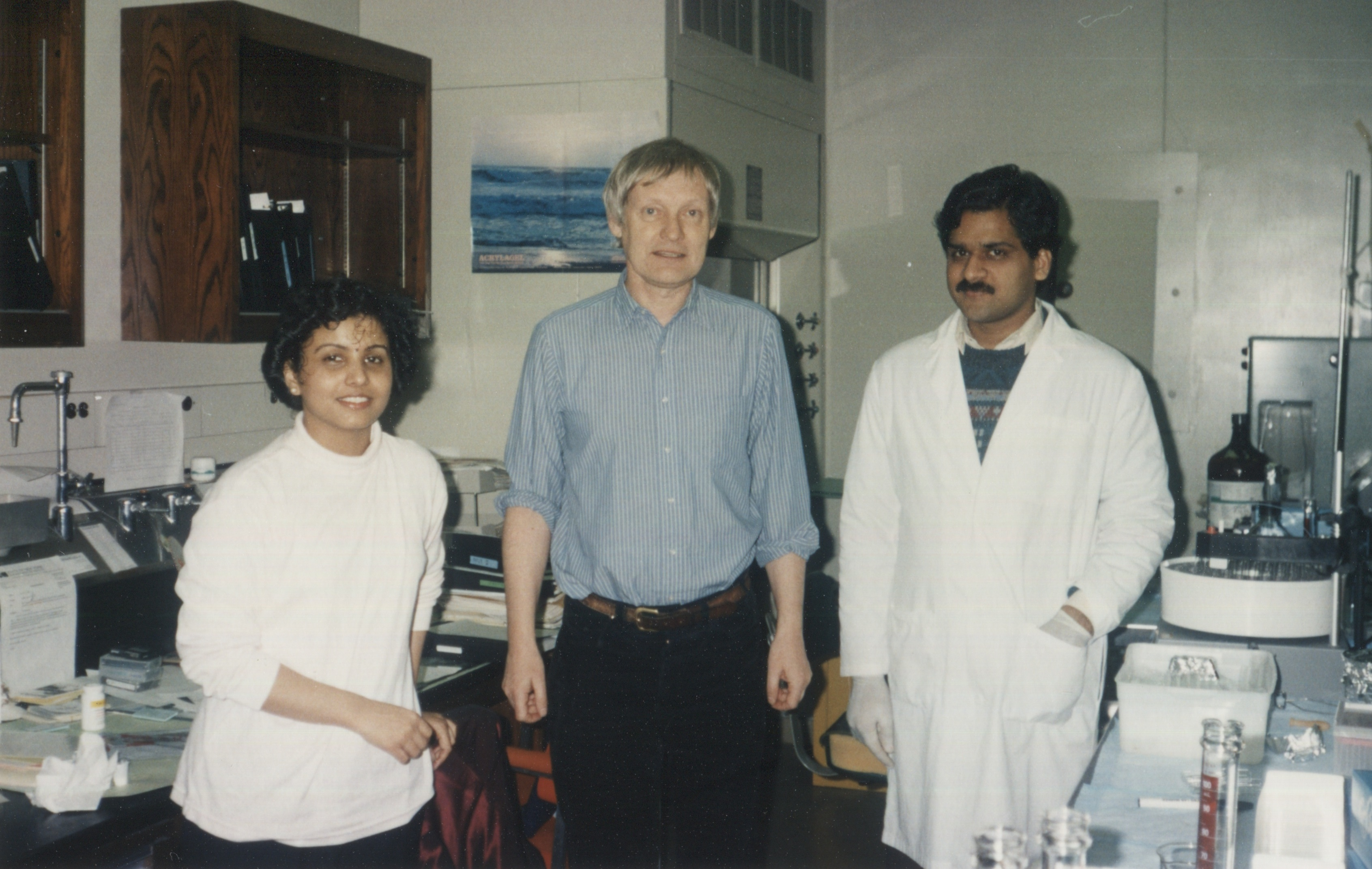 Dr. Frank at Wadsworth Center in 1995.