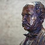 Statue of Dr. Ignaz Semmelweis