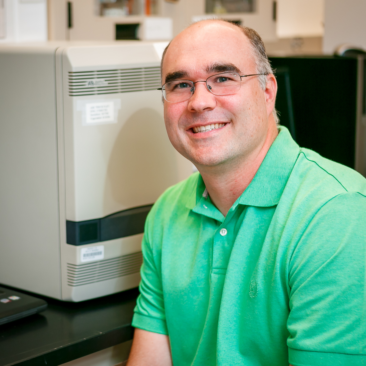 Dr. Patrick Bryant, Director of the Enteric Virology Laboratory