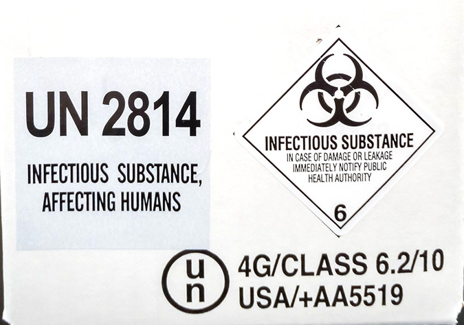 Category A – Infectious Substances
