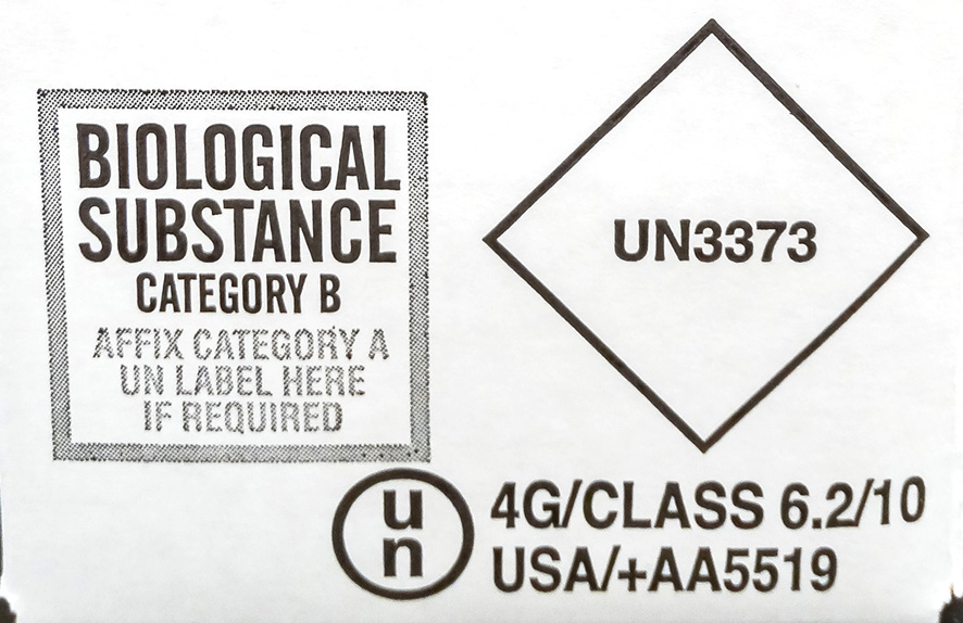 Category B – Biological Substance