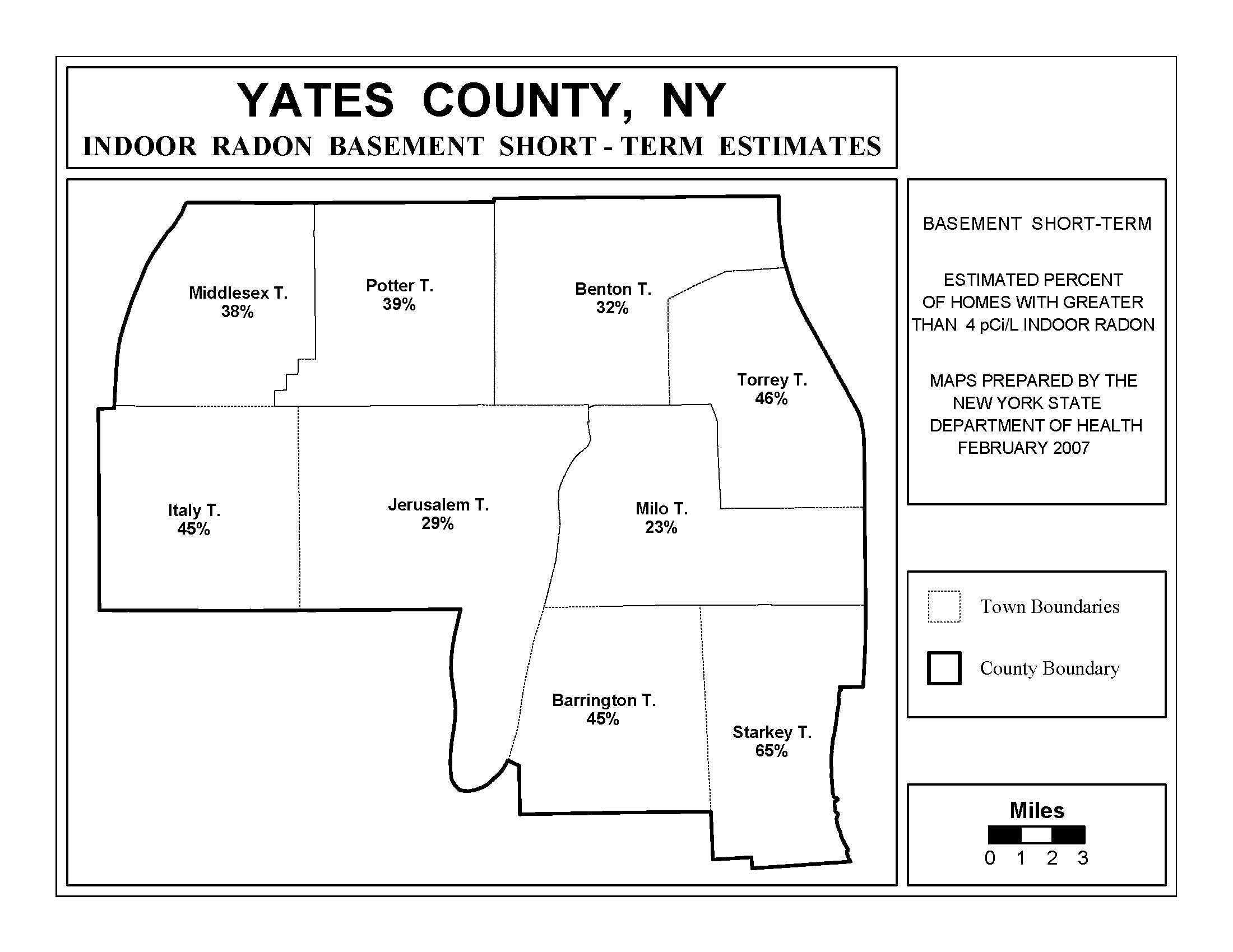 Radon | New York State Department of Health, Wadsworth Center on